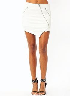 Zip It Reptile Mini Skirt