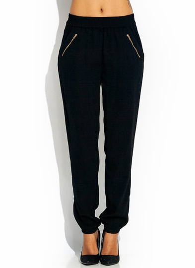 Zip It Up Woven Joggers