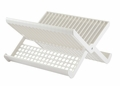 Folding Dish Rack, white