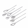 Melamine Mixing Spoons, Set of 7