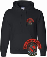 World Famous Crest Greek Hoodie - $20!