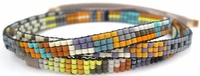 Adjustable Beaded Bracelet/Necklace by Julie Rofman