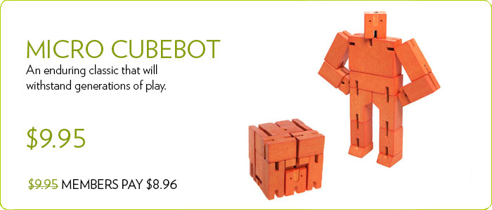 Micro Cubebot by Areaware