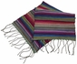 Rainbow Scarf With Pleats by Carol Cassidy