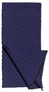Checkered Scarf, Cobalt by String Theory