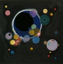 Vasily Kandinsky, Several Circles (Einige Kreise), January-February, 1926