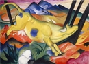 Franz Marc, Yellow Cow (Gelbe Kuh), 1911