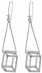 Cube Drop Earrings by Pico