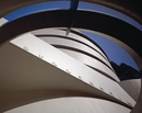 David Heald, Exterior View of the Solomon R. Guggenheim Museum, New York, Abstract View, ca. 1992