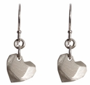 Tiny Facet Heart Earrings by Pico