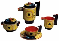 Futurist Tea Set for One Person