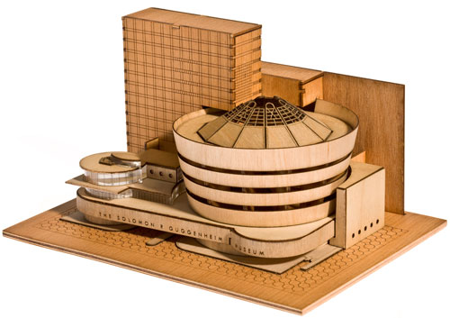 Guggenheim Architectural Model