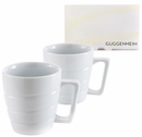Guggenheim Spiral Mug, Gift Boxed Set of Two