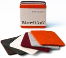 Felt Coaster 6-Pack, Multi by Graf and Lantz