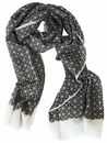 Triangle Print Scarf by Pavo