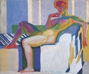 Frantisek Kupka, Planes by Colors, Large Nude (Plans par couleurs, grand nu), 1909�10