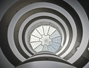 David Heald, The Rotunda Sylight of the Solomon R. Guggenheim Museum, New York, ca. 1992