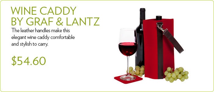 Wine Caddy by Graf & Lantz