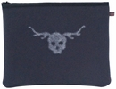 Skull and Antler iPad Sleeve by Studio DKS