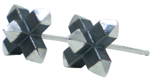 Starburst Stud Earrings by Rachel Quinn