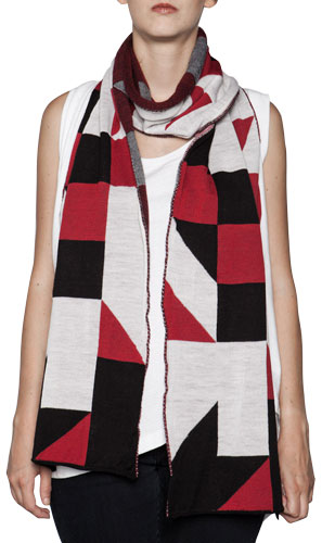 Tangram Scarf by String Theory
