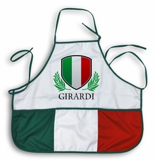 Custom Name Italian Apron