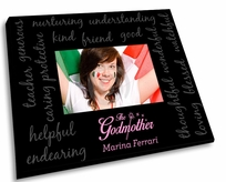 Full Color Godmother Picture Frame