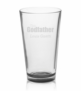 Godfather / Godmother Mixing Glasses - Set of 4