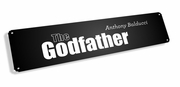 Godfather Name Tag