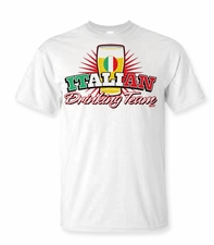 Italian Drinking Team Shirts