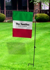Italian Flag Yard Sign