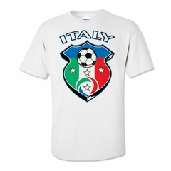 Italy Soccer Shield Tee