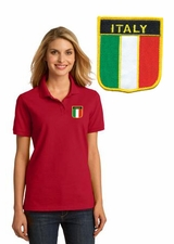 Italia Ladies Pique Polo