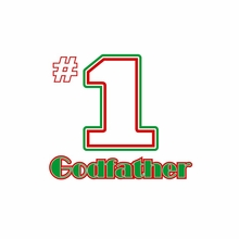 Number One Godfather T-Shirt