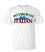 Pittsburgh Italian T-Shirt