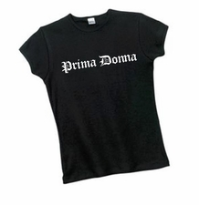 Ribbed Prima Donna Tee