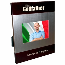 The Godfather Brush Silver Frame