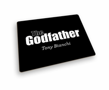 The Godfather Hard Mousepad