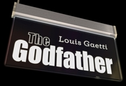 The Godfather Neon Sign