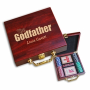 The Godfather Poker Set