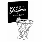 The Godmother Mini Basketball Hoop