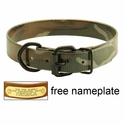 buy discount  1 in. D-End Green Camo SunGlo Collar