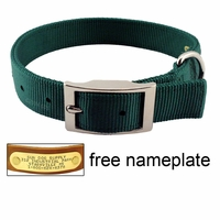 "buy discount  1"" Double-Ply Nylon Standard Dog Collar - #115N"