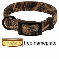buy discount  Realtree Max 5 Camo 2-ply Nylon D-End Dog Collar