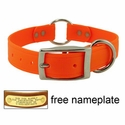buy discount  1 in. K-9 Komfort EverFlex Center Ring Dog Collar with Stainless Steel Hardware