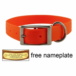 1 in. K-9 Komfort EverFlex Standard Dog Collar with Stainless Steel Hardware