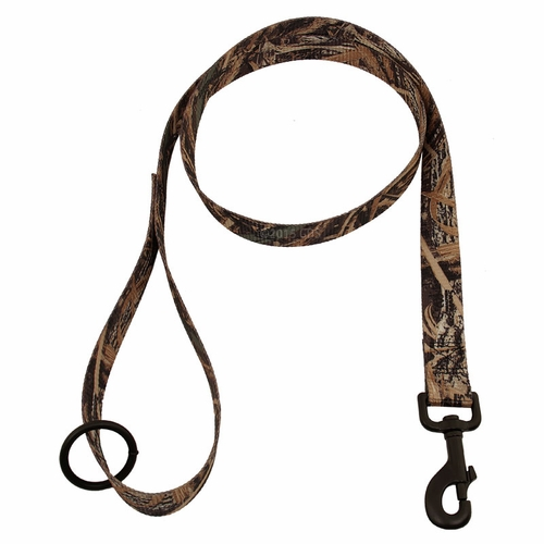 Max 5 Camo 4 ft. x 1 in. 1-ply Nylon Leash