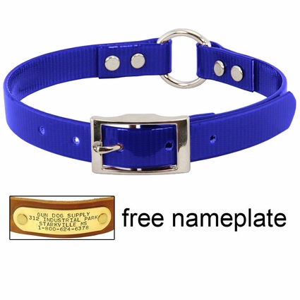 3/4 in. Day Glow Center Ring Puppy / Small Dog Collar