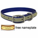 CLEARANCE -- 3/4 in. K-9 Komfort Reflective Standard Puppy / Small Dog Collar