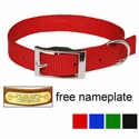 "buy discount  3/4"" OmniPet Single Ply Stitched Nylon Collar"